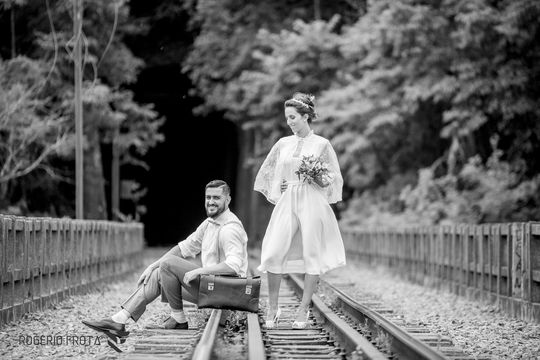 Trash the Dress Gabrielle e Pierre - Viaduto V 13